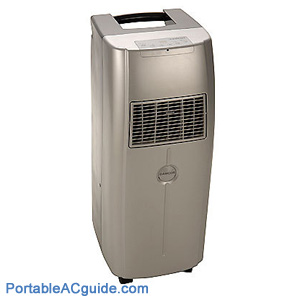 Get cooled off with this LG Electronics 12,000 BTU Portable Air Conditioner that features an LCD remote for ease of operation. Large LCD controls along with the
